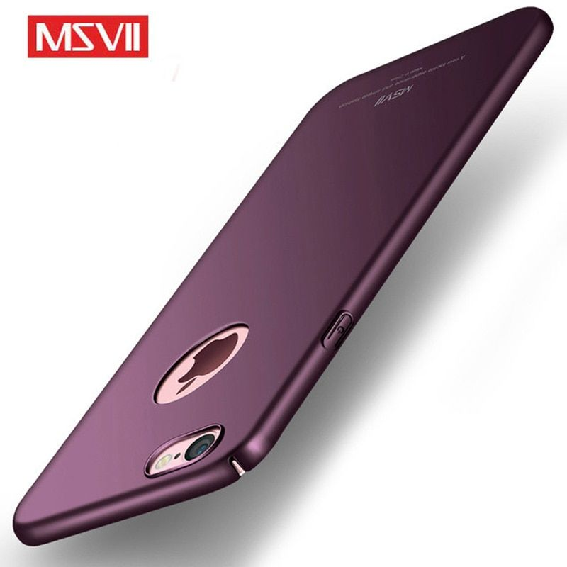 MSVII for iphone 6 6s Plus Case Cover PC Frosted Hard Back Cover for iphone 6 S Luxury Slim Hard Scrub Case for iphone 6 S Plus