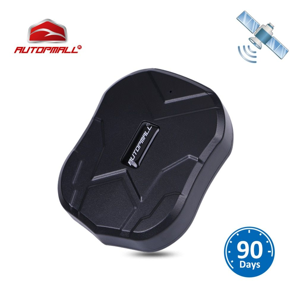 GPS Tracker Car Tracker Vehicle GPS Locator TK905 Waterproof Magnet Standby 90Days Real Time LBS Position Lifetime Free <font><b>Tracking</b></font>