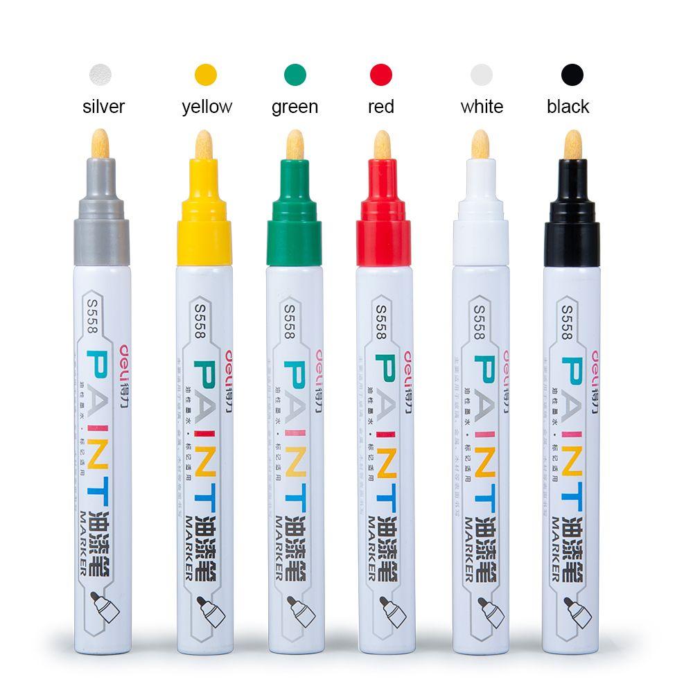 2 stück 6 Farben Reifen Farbe Marker Optional RC Auto Zeichnung Stift Werkzeug für RC Auto Crawler Traxxas TRX4 Axial SCX10