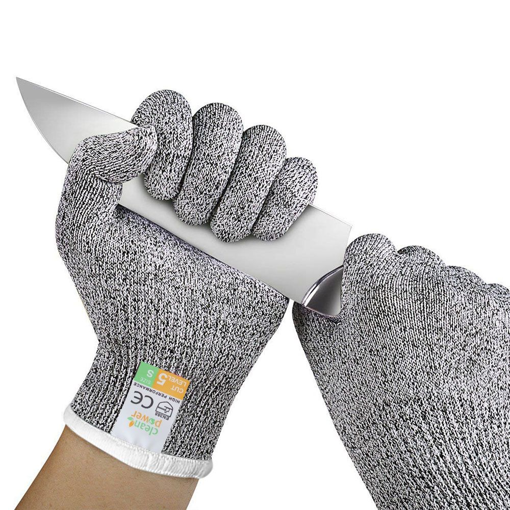 Super PDR Tools HPPE Cut Resistant Gloves Level 5 Protection High Performance Multifunctional Household Garden Gloves S M L Tool