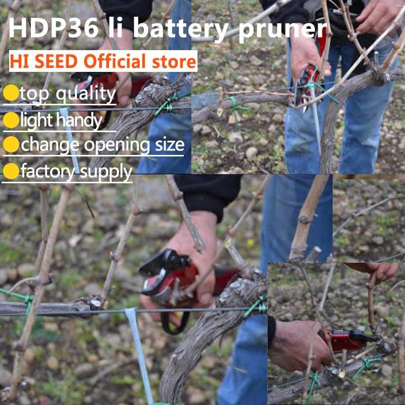 Electric pruner electric pruning shears all day long working battery (forged blade scissors power secateurs pruners)