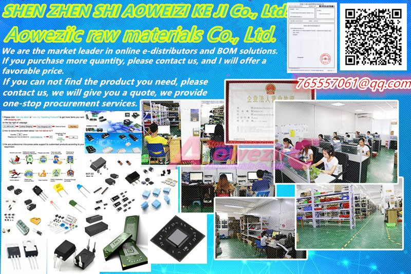 Aoweziic BOM Professional electronic components one-stop BOM table matching model service (please inquire model price, purchase)
