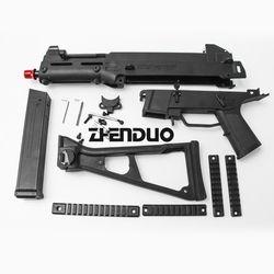 Zhenduo Mainan UMP 45 Shell Gel Bola Gun Aksesoris Mainan untuk Anak Keluar Pintu Hobi