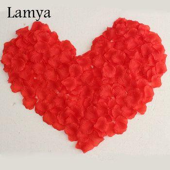 36 Couleurs 1000 pcs/ensemble Artificielle Fleurs De Mariée En Soie Rose Petals Parti Accessoires