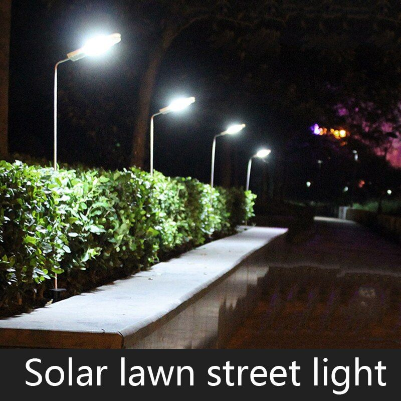 Waterproof LED Solar Panel Lawn Street Lights Garden Outdoor Lamps Super Bright New Year Christmas Garland Luminaria Decor