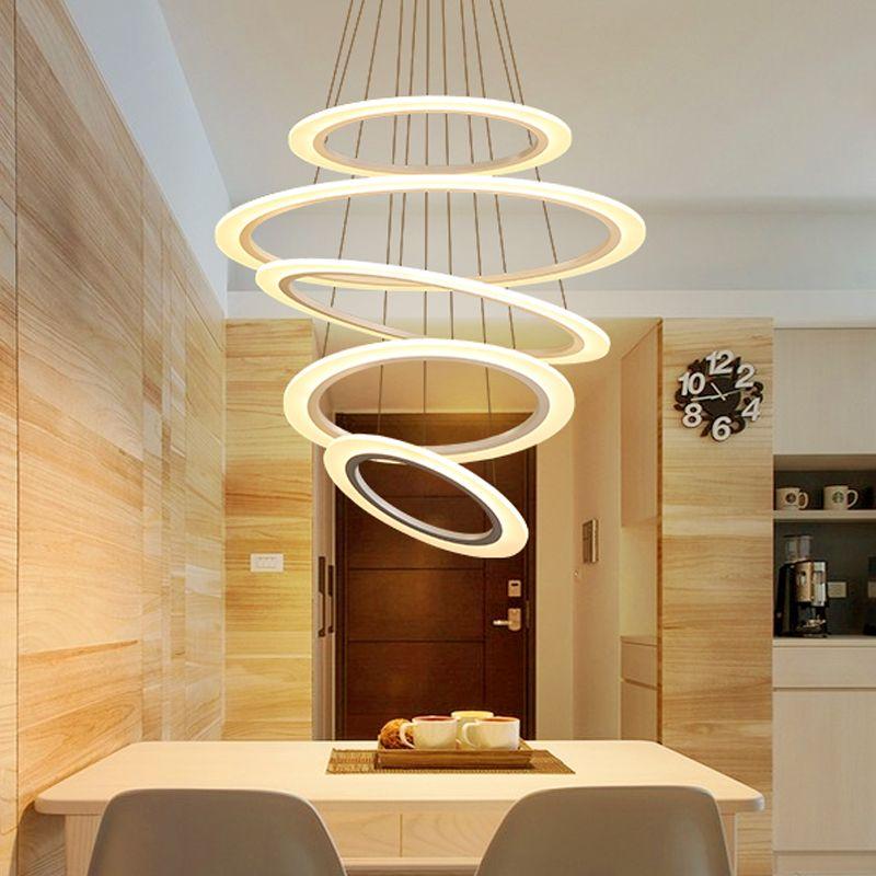 Minimalism DIY Hanging Modern Led Pendant Lights For Living Diningroom suspension luminaire hanglamp Pendant Lamp Fixture
