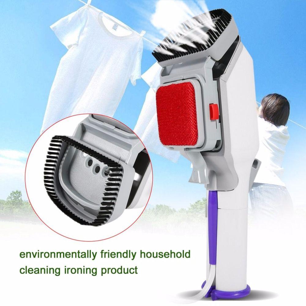 Multifunktionale Elektrische Keramik Bügelsohle Tragbare Kleidung Dampf Pinsel Für Reise Haushalt Garment Steamer Maschine EU/Us-stecker