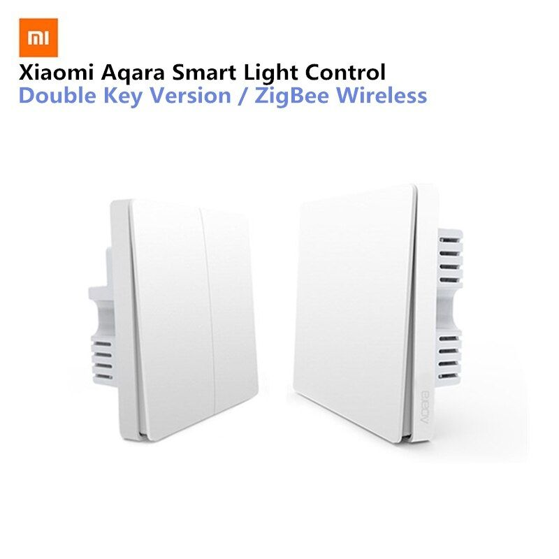 Xiaomi Aqara Smart Light Control Fire Wire And <font><b>Zero</b></font> Line ZigBee Wireless Connection Single Key Version/Double Key Version