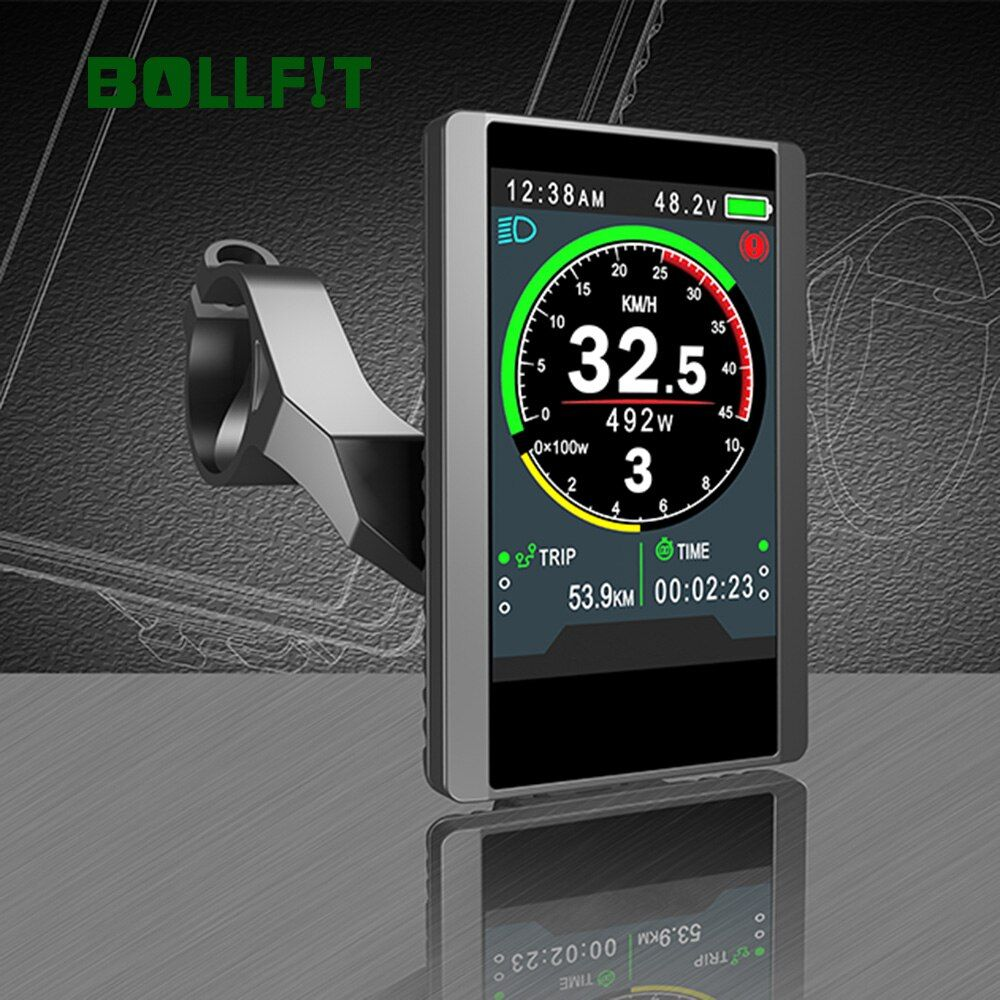 Bollfit Bafang LCD Display 850C Farbe Bildschirm TFT Midmotor Kit BBS02 BBS01 BBSHD