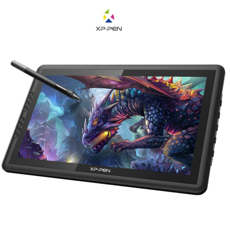 XP-Pen Artist16 15.6 Inch IPS Drawing Monitor Pen Display Drawing Tablet with Shortcut Keys Adjustable Stand