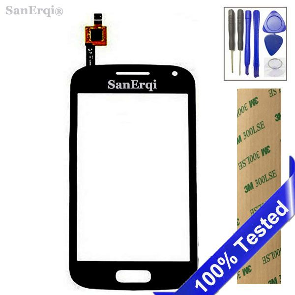 SanErqi White Black Touch Screen For Samsung Galaxy Ace 2 GT i8160 New Digitizer Panel Sensor Lens Glass