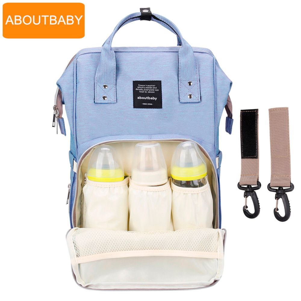 Baby diaper bag backpack designer diaper bags for mom mother maternity nappy bag for stroller organizer bag set accessories