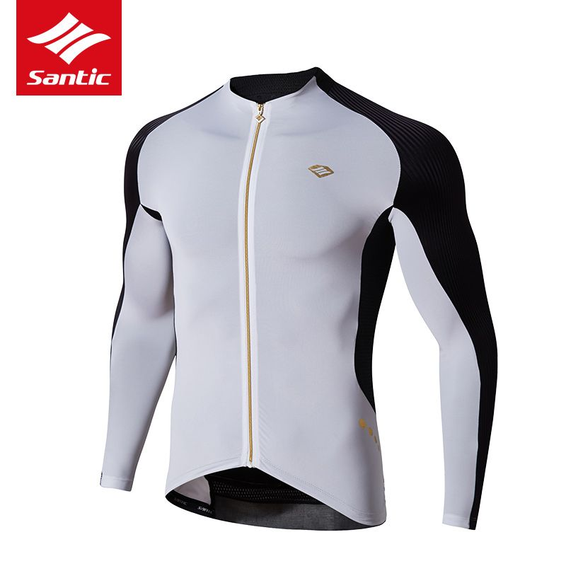 Santic Cycling Jersey 2017 Pro Team Long Sleeve MTB Road Bike Jersey Breathable Tour De France Bicycle Jersey Maillot Ciclismo