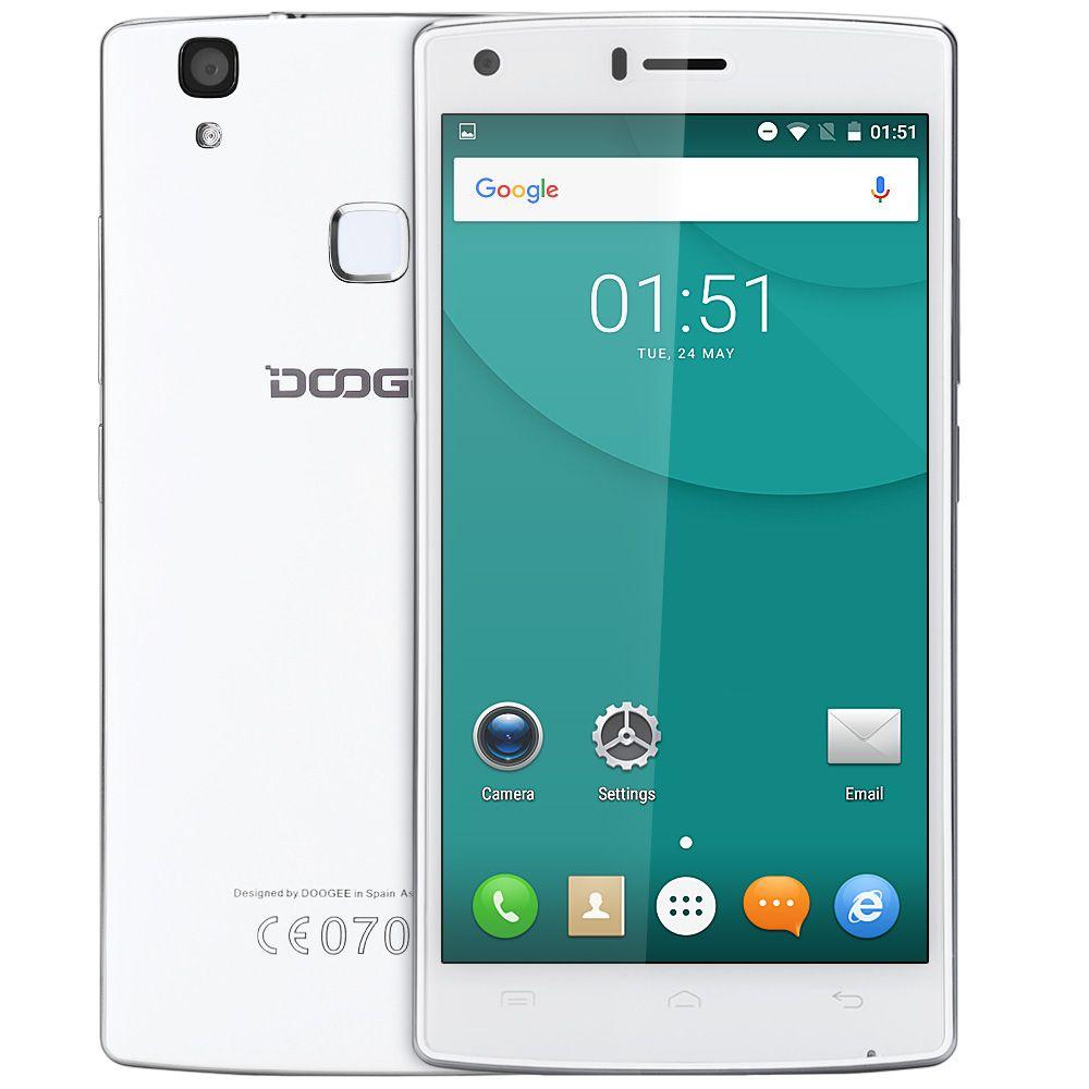 DOOGEE X5 MAX 3G Smartphone Original 5.0inch Android 6.0 MTK6580 QuadCore HD Screen 1GB RAM 8GB ROM Fingerprint Sensor Bluetooth