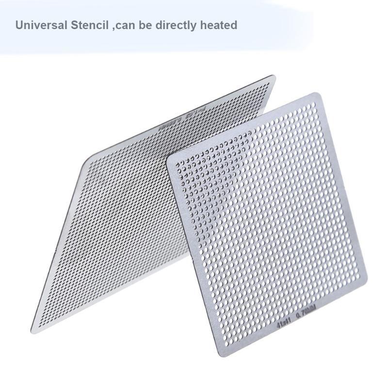 27pcs/set WPC BGA Universal Direct Stencils For Notebooks Shelves Desktop Kitchen Storage Bathroom Environmentally Friendly Heat