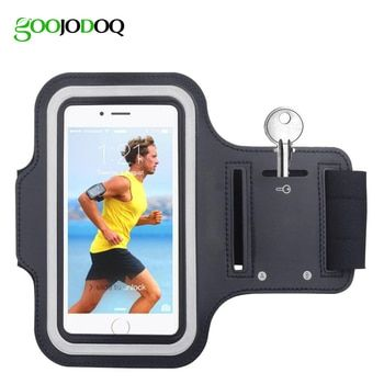 Waterproof Gym Sports Running Armband for iPhone 8 7 4 5 5S 5C SE 6 6s 8 Plus Phone Case Cover Holder Armband Case for iPhone 8