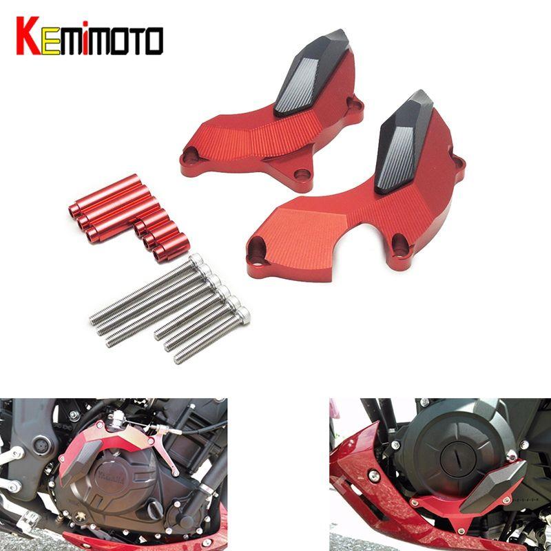 MT 03 MT25 R3 R25 Engine Slider Protector for Yamaha YZF R3 R25 2014 2015 2016 MT-03 MT-25 Naked Bike Engine Guard Cover Pad