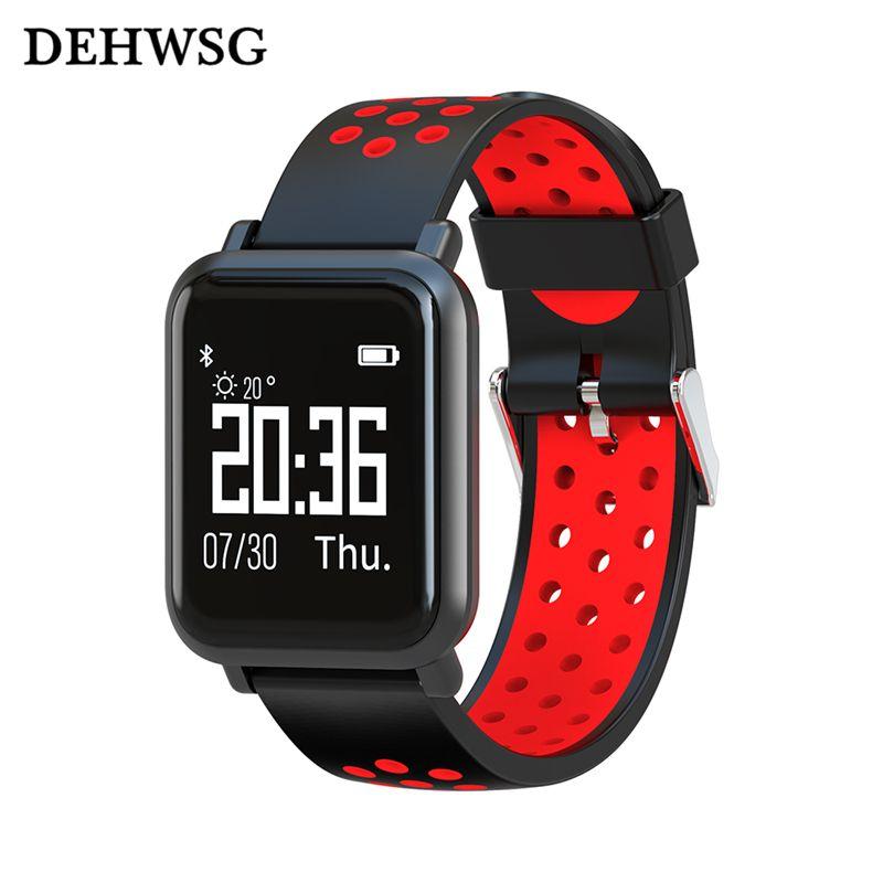 2018 New smart bracelet SN60 5ATM IP68 Waterproof smartband real-time heart rate monitor multi-sport model For Apple Xiaomi 2