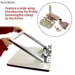 2 pcs/set  Butterfly Hinge Clamp Silk Screen Printing Metal Butterfly Hinge Clamp DIY Hobby Tool
