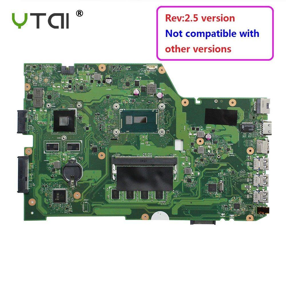 YTAI Original For ASUS X751L K751L K751LN X751LK X751LD F751LD REV 2.5 I7-5500U laptop notebook motherboard DDR3 HM86