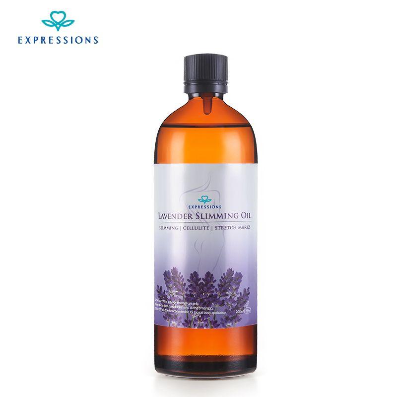 Minceur Corps Huile De Massage 200 ML Australie 100% Beauté Essentials Huiles Vitamine Lavande Huiles Essentielles pour Aromathérapie diffuseurs