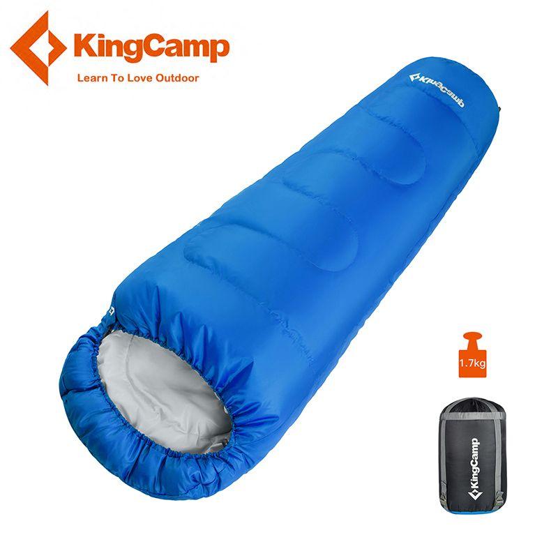 KingCamp Mummy Cotton Sleeping Bag Waterproof Ultralight Outdoor Lazy Bag Camping Travel Hiking Adult Sleeping Bags 3 Season