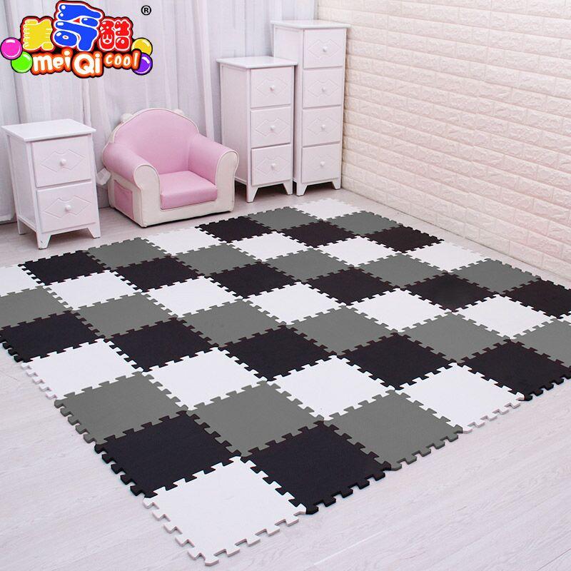 mei qi cool baby EVA Foam Play Puzzle Mat for kids Interlocking Exercise Tiles Floor Carpet <font><b>Rug</b></font>,Each 30X30cm18 24/ 30pcs playmat