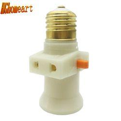 Огнеупорные материалы E27 Pendente переключатель старинный держатель лампы E27 розетка переключатель 100% чистый Медь светодиодные лампы Патрон E27 ...