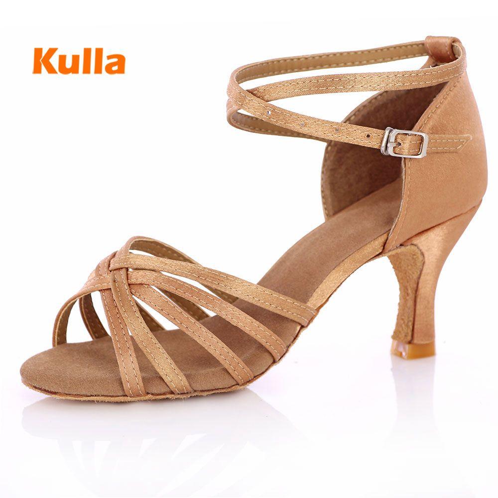 Femme chaussures de danse latine dames filles baskets chaussures de danse pour femmes Jazz salle de bal Salsa chaussures de danse 4 couleurs environ 5 cm/7 cm talon