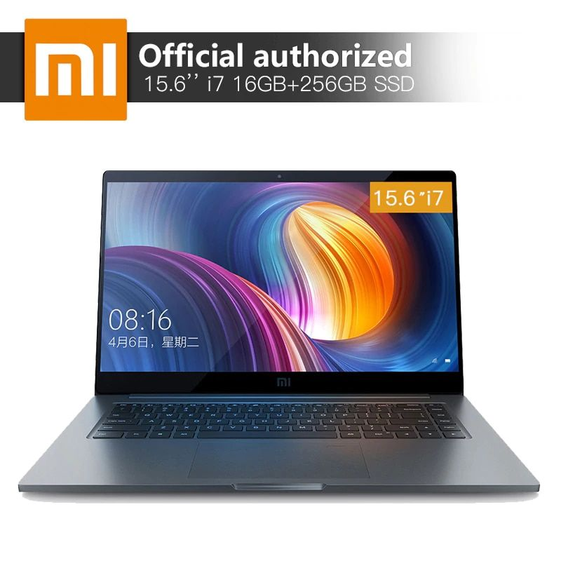 Xiaomi Pro Laptop 16 GB RAM 256 GB SSD Intel Core i7-8550U Quad Core CPU MX150 2 GB GDDR5 Computer fingerprint Anerkennung Notebook
