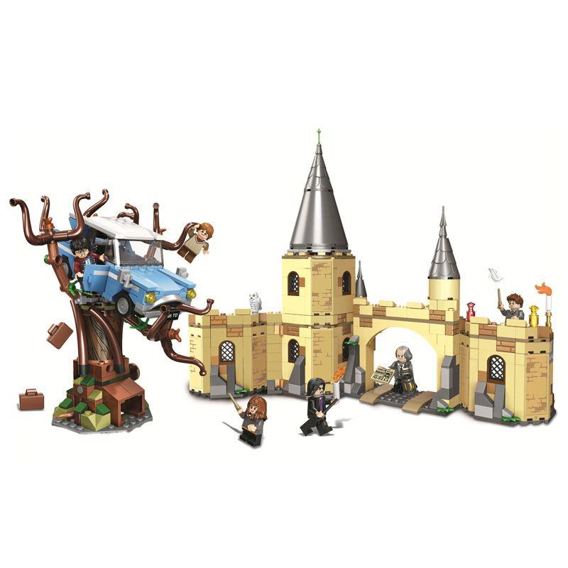 AIBOULLY 11005 Harry Magic Potter Hogwarts Castle Compatible 71043 Building Blocks Bricks Kids Educational Toys For Children