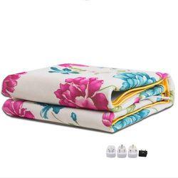 Электрическое одеяло, более плотный обогреватель, двойной подогреватель тела 150*120 см, подогреваемое одеяло, термостат, электрическое подог...