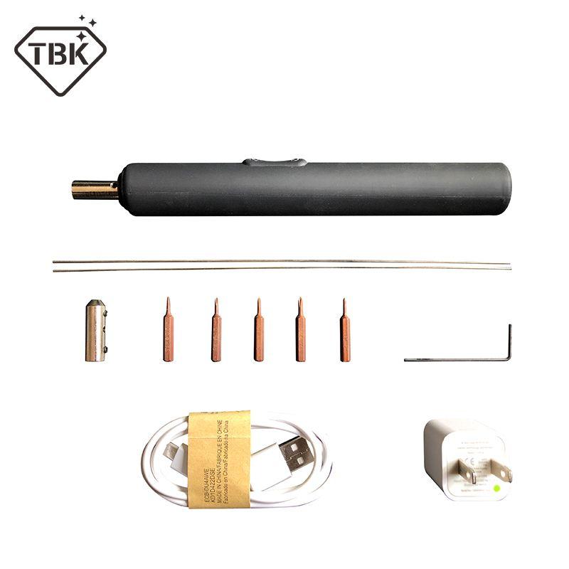 TBK 2in1 Akkuschrauber Kleber Entferner Werkzeuge LCD Uv-kleber sauber Schraubendreher OCA Entfernen Kleber Schraubendreher für lcd kleber entfernen