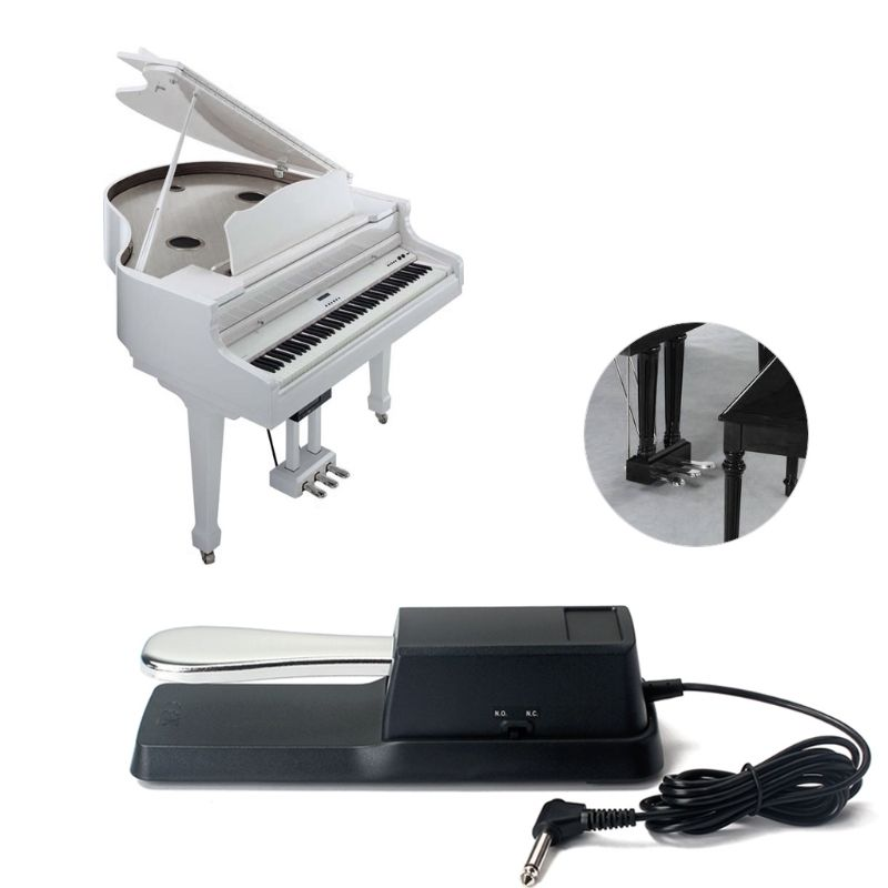 New Damper Sustain Pedal for Yamaha HMY Piano for Casio Keyboard Sustain Ped