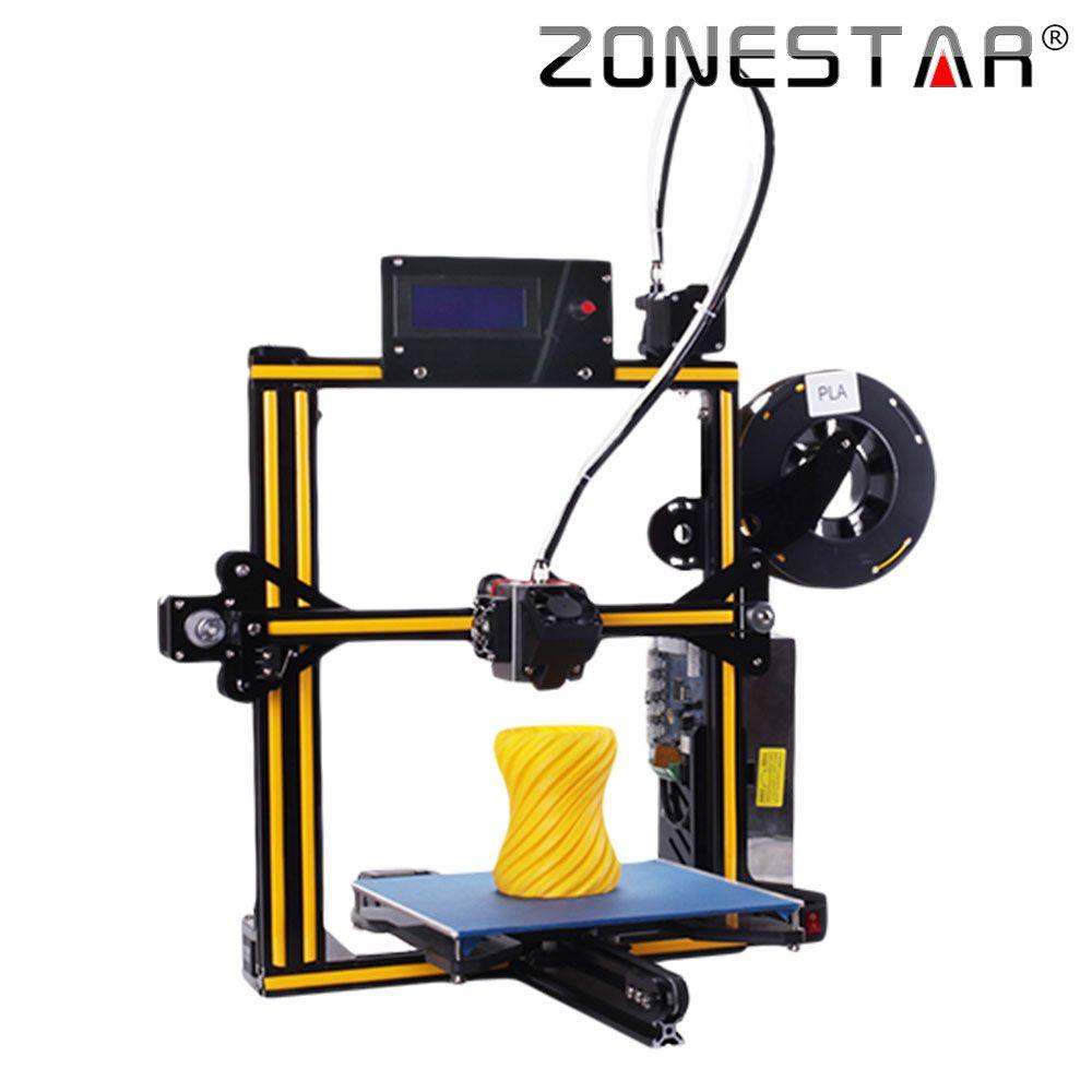 ZONESTAR Newest Upgradable Full Metal Aluminum Frame Optional Auto Leveling Filament Run out Detect 3d printer DIY kit