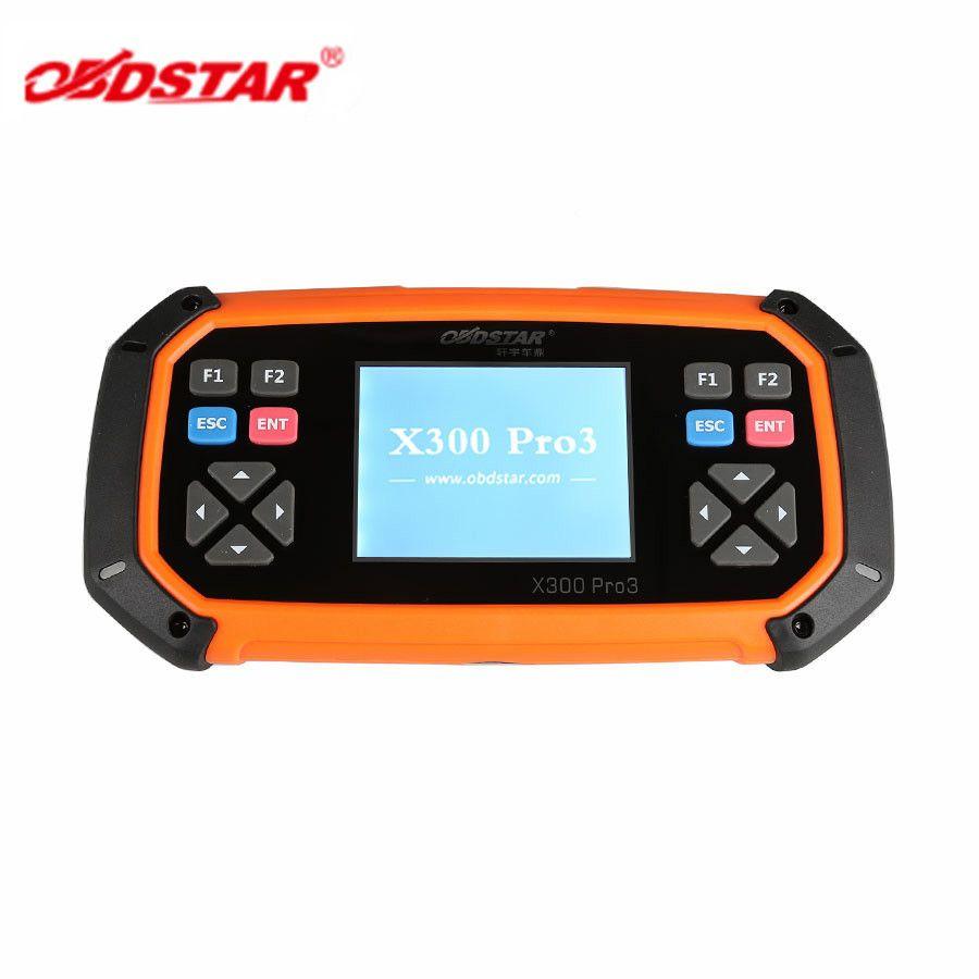 OBDSTAR X300 PRO3 Schlüssel Master mit Wegfahrsperre + Kilometerzähler Einstellung + EEPROM/PIC + OBDII + Für Toyota G & H Chip Alle Schlüssel Verloren