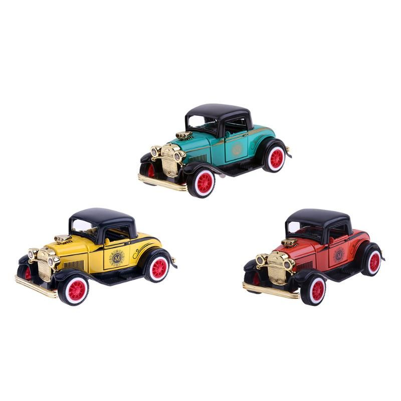 1:36 Classic Pickup Truck Modle Kids Alloy Light Music Hard-Top Car Simulation Model Collect Toys For Children Birthday Gifts