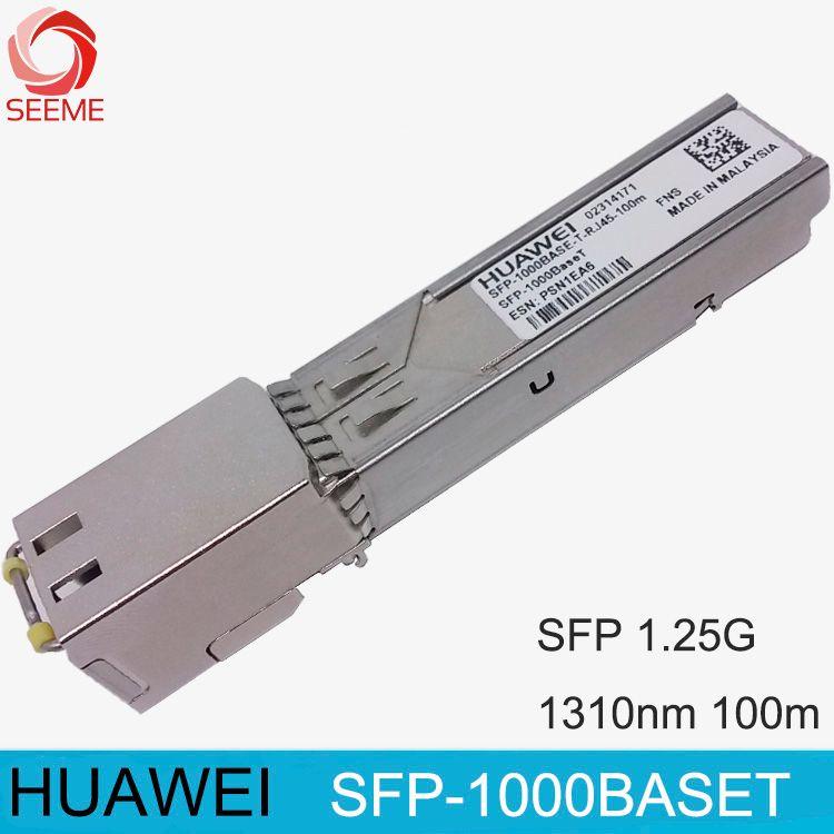 HW RJ45 faser optische SFP-1000BASET SFP SFP-GE-T optical modul SFP-1000BASET-T-RJ45-100m
