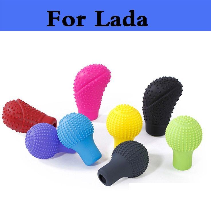 2017 New Soft Comfortable massage Car Silicone Gear Shift Head Cover For Lada Oka 2105 2106 2107 2109 2110 2112 2113 2114 2115