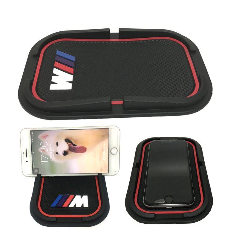 ///M Logo 3D Car Phone Non-Slip Mat Support Holder Mounts GPS Sat Nav For BMW  M M3 M5 M Power
