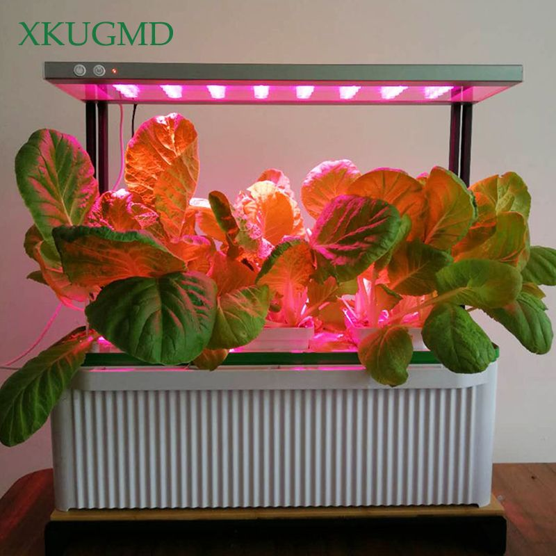 XKUGMD Phyto Lamp Full Spectrum LED Grow Light 240V Plant Lamp with Clip for Greenhouse Hydroponic Vegetable Flower Fitolampy