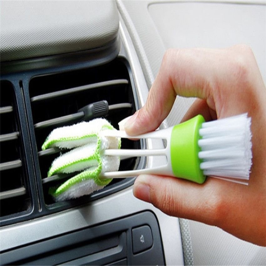 Car Diy New Plastic Car Air Conditioning Vent Blinds Cleaning Brush For Series Part Accessories dropshipping