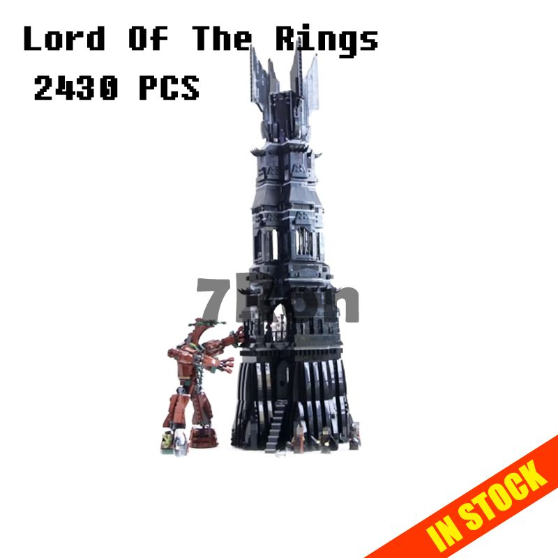 Models building toy hobbies 16010 2430pcs The Lord Of The Rings Series Compatible with lego Blocks 10237 educational bricks