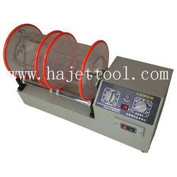 Gratis Pengiriman Mesin Tukang Emas Alat Kapasitas 11 kg Rotary Tumbler 2 Barel Emas Polishing Mesin