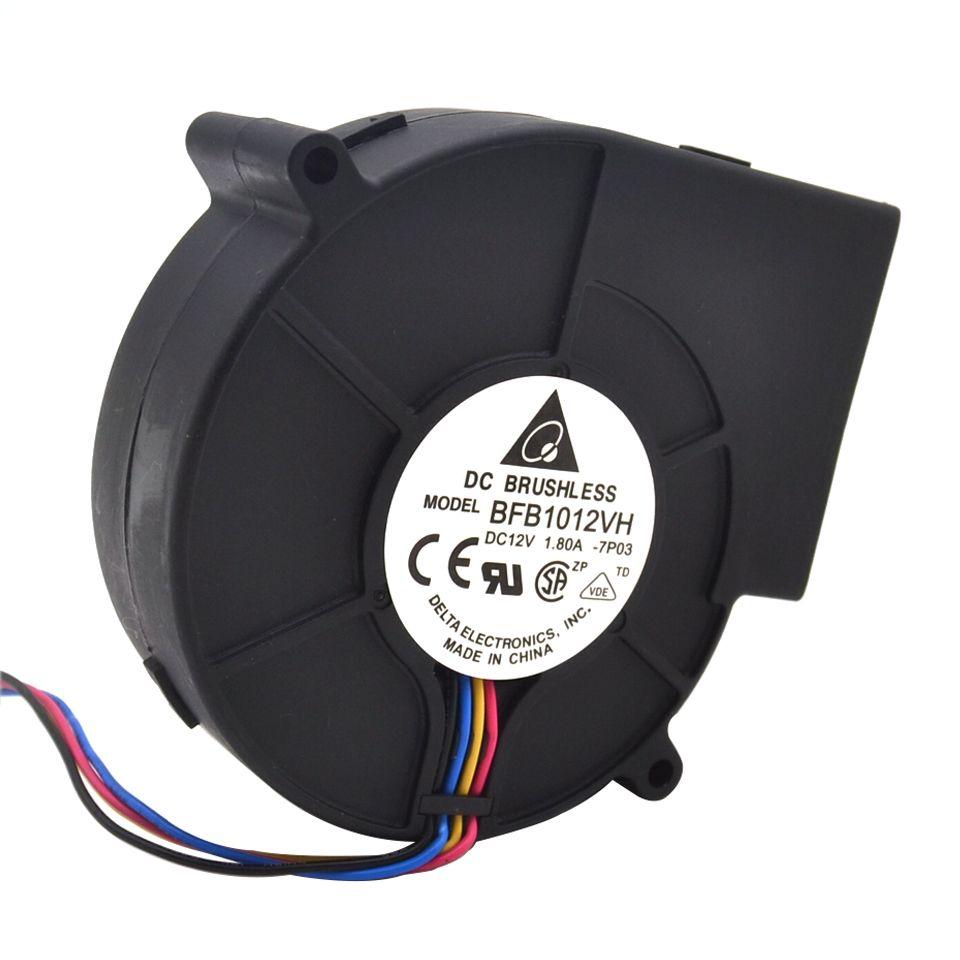 D'origine Delta 9733 turbo ventilateur centrifuge soufflant BFB1012VH 12 V 1.80A vent capacité 97*97*33mm