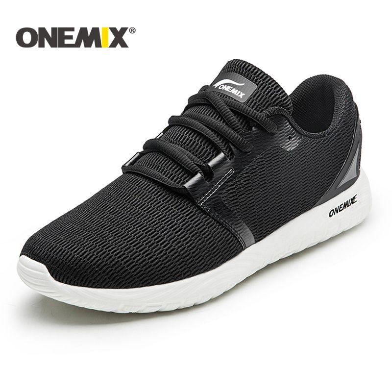 Onemix NEW running shoes unisex breathable mesh lightweight sneaker outdoor walking for men trekking shoes sports sneaker women