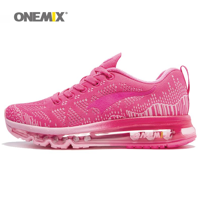 ONEMIX women's sport running shoes Lady walking shoes breathable mesh women's athletic shoes size EU 36-40 free shipping