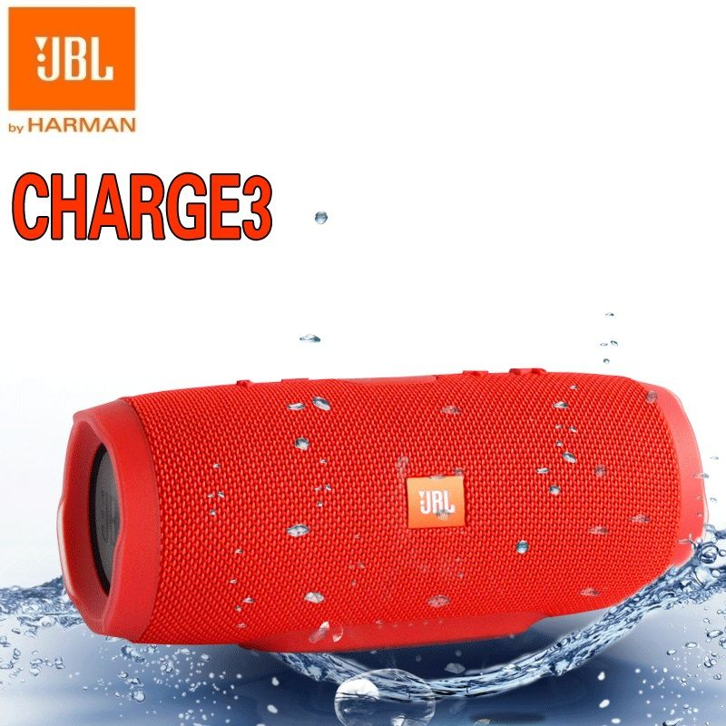 JBL Charge3 IPX7 Xtreme Bass WaterProof Mini Portable Bluetooth speaker with power bank pk charge 2 pulse 2 CHR2+