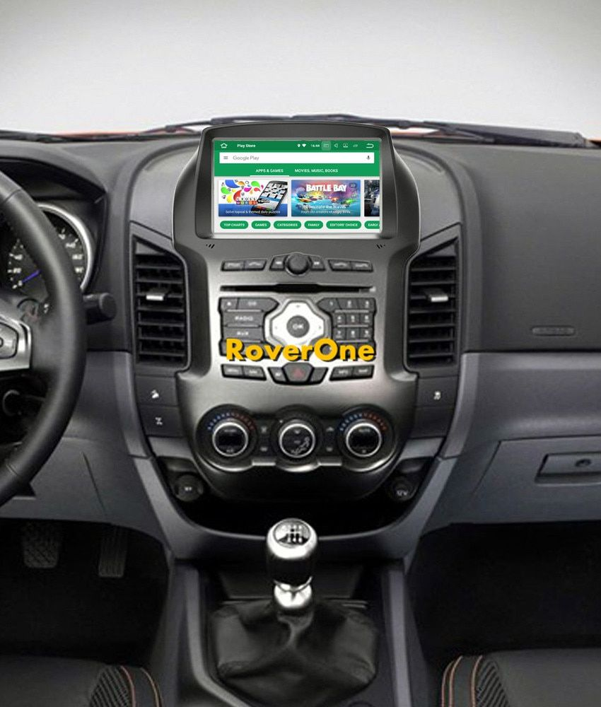 RoverOne S200 Android 8.0 Car Multimedia Player For Ford Ranger 2011 - 2015 Autoradio DVD Radio Stereo GPS Navigation Sat Navi