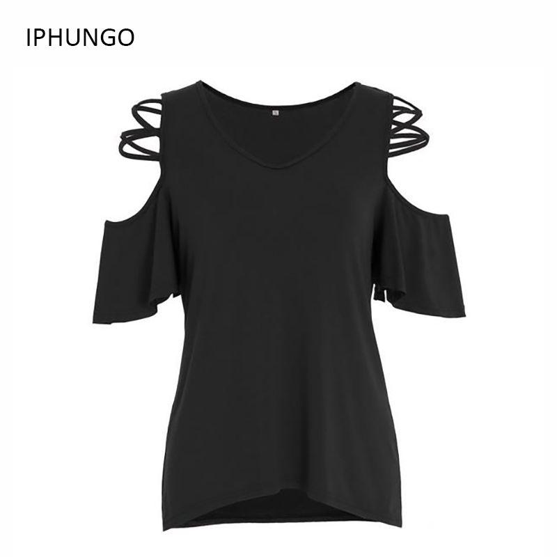 Camisetas продажи Единорог Для женщин с плеча Половина рукава Топы корректирующие 2017 Повседневное Flare, длинная футболка Vestidos Mujer iphungo